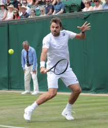Stan Wawrinka in Second round match against Reilly Opelka