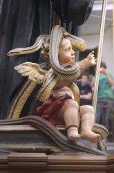 Saint Domenico's snake procession held in Cocullo, Italy