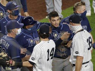 New York Yankees vs Tampa Bay Rays at Yankee Stadium