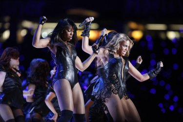 Beyonce Performs at XLVII in New Orleans