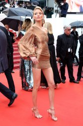 Martha Hunt attends the Cannes Film Festival