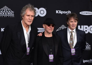 Dire Straits at the 33rd annual Rock and Roll Hall of Fame Induction