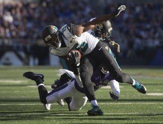 Jacksonville Jaguars wide receiver Allen Robinson in Baltimore