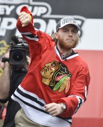 Chicago Blackhawks Celebrate Stanley Cup Win in Chicago