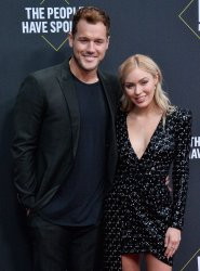 Colton Underwood and Cassie Randolph attend E! People's Choice Awards in Santa Monica