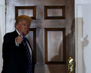 President elect Donald Trump holds meetings at Trump International Golf Club