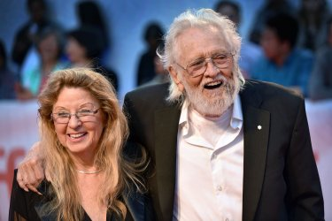 Ronnie Hawkins attends 'Once Were Brothers' premiere at Toronto Film Festival