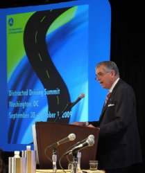 Transportation Department holds Distracted Driving Summit in Washington