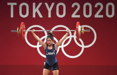 Women's 49kg Weightlifting Competition