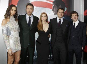 Ben Affleck and Amy Adams at Batman V Superman premiere