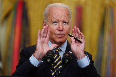 President Biden Delivers Remarks On Afghanistan Troop Drawdown