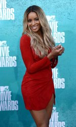 Ciara arrives at the 2012 MTV Movie Awards in Universal City, California