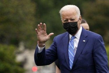Joe Biden returns after the weekend