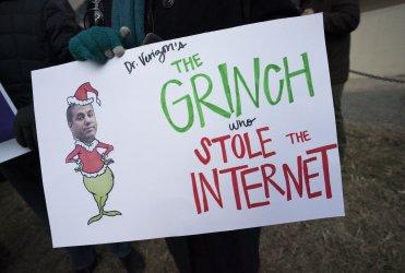 FCC Net Neutrality Protest in Washington, D.C.