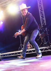 Kiefer Sutherland performs at Glastonbury Festival