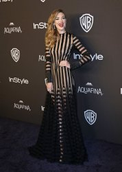 Jaime King attends the InStyle and Warner Bros. Golden Globe after-party in Beverly Hills