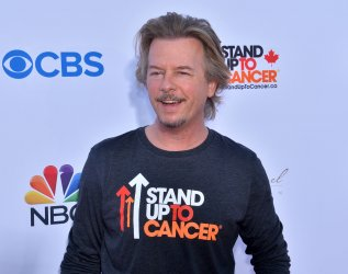 """David Spade attends the biennial """"Stand Up to Cancer"""" fundraising telecast in Santa Monica, California"""