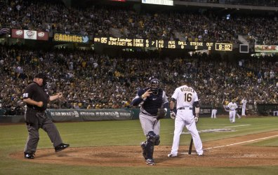 Oakland A's vs Detroit Tigers in Game 5 American League Division Series