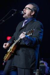 Elvis Costello in concert in Las Vegas