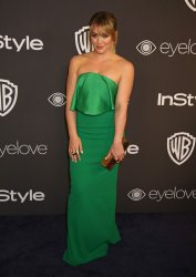 Hilary Duff attends the InStyle and Warner Bros. Golden Globe after-party in Beverly Hills