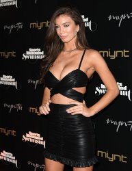 Erin Willerton  Walks the Red Carpet At The 2019 SI  Swimsuit Party In Miami Beach, Florida