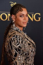 """Beyonce attends """"The Lion King"""" premiere in Los Angeles"""