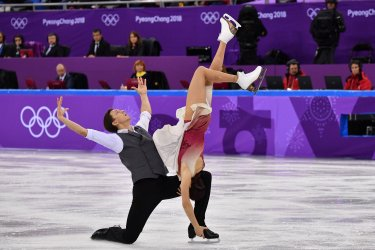 Team Event Ice Dance Free Skating at the Pyeongchang 2018 Winter Olympics