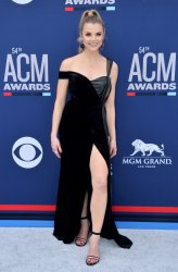 Andrea Boehlke attends the Academy of Country Music Awards in Las Vegas