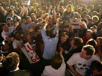 Walker Holds Election Night Rally in Waukesha, Wisconsin