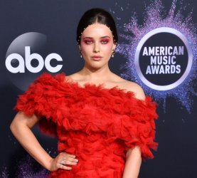 Katherine Langford attends American Music Awards in LA