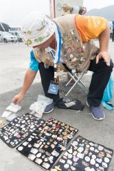Pin Collectors at the 2016 Olympics in Rio de Janeiro