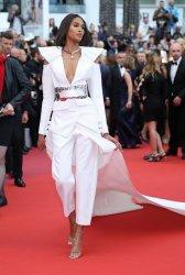 Cindy Bruna attends the Cannes Film Festival