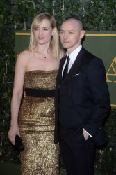 """Anne-Marie Duff and James McAvoy attend the """"Evening Standard Theatre Awards"""" in London"""