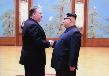 CIA Director Mike Pompeo Meets with North Korean Leader Kim Jong Un