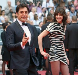 Javier Bardem and Charlotte Gainsbourg attend the Cannes Film Festival
