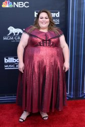 Chrissy Metz attends the 2019 Billboard Music Awards in Las Vegas