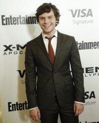 Evan Peters at a New York screening of 'X-Men Apocalypse