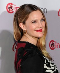 Drew Barrymore arrives at the 2014 CinemaCon Awards Ceremony in Las Vegas