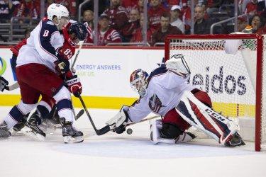 NHL Hockey: Columbus Blue Jackets at Washington Capitals