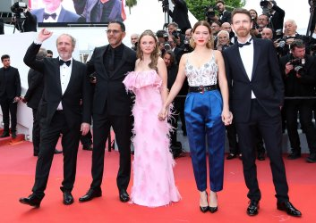 """The cast from """"Oh Mercy!"""" attends the Cannes Film Festival"""