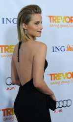 Dianna Agron attends Trevor Live at Hollywood Palladium in Los Angeles