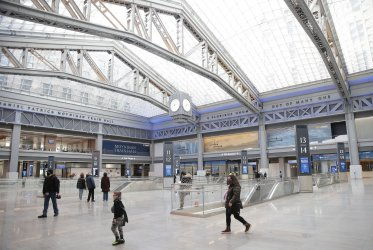 Moynihan Train Hall Opens at Penn Station in New York