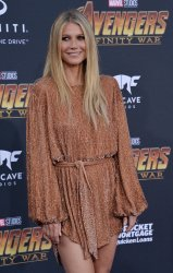 "Gwyneth Paltrow atends the ""Avengers: Infinity Wars"" premiere in Los Angeles"