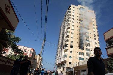 Israeli Strike in Gaza