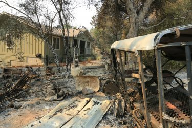 Thousands of homes destroyed in California wildfires
