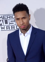 Tyga attends the 43rd annual American Music Awards in Los Angeles