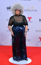 MARi Burelle attends the Billboard Latin Music Awards in Las Vegas