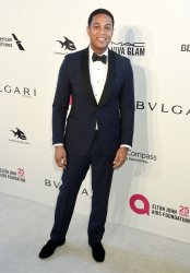 Don Lemon attends the Elton John Aids Foundation Oscar viewing party in Los Angeles