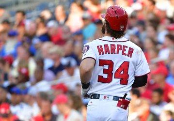 Nationals Bryce Harper