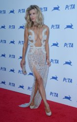 Joanna Krupa attends PETA's 35th anniversary party in Los Angeles